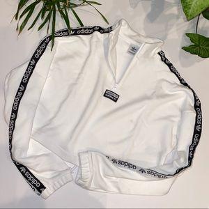 Adidas Cropped 1/4 Zip